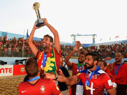 開催国ポルトガルがタヒチを破り2度目の世界王者に/ビーチサッカーW杯