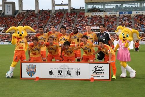 静岡大と清水エスパルスが小学生対象のサッカー教室を開催