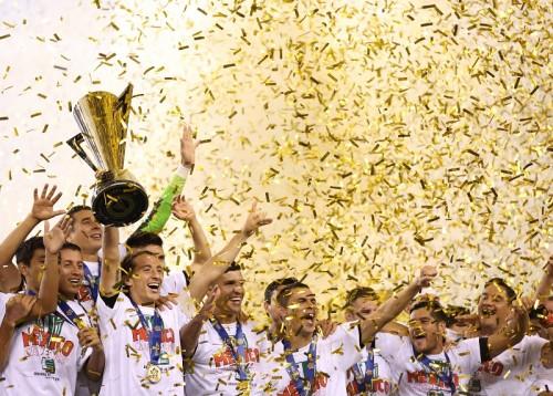 ジャマイカ初優勝ならず…メキシコが10度目のゴールドカップ制覇