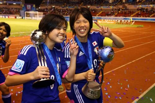 U-19日本女子代表候補に杉田妃和、長谷川唯ら26選手