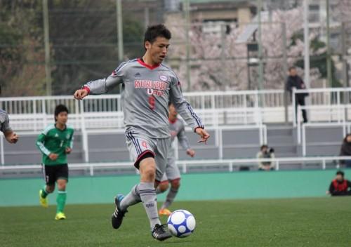 流経大MF中村慶太、来シーズン長崎加入が内定「長崎のために力を尽くす」