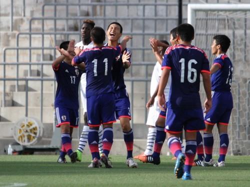 U-16日本代表が3連勝で大会優勝/インターナショナルドリームカップ2015