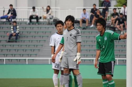 専修大GK福島春樹「Jリーグのチームと真剣勝負がやりたい」