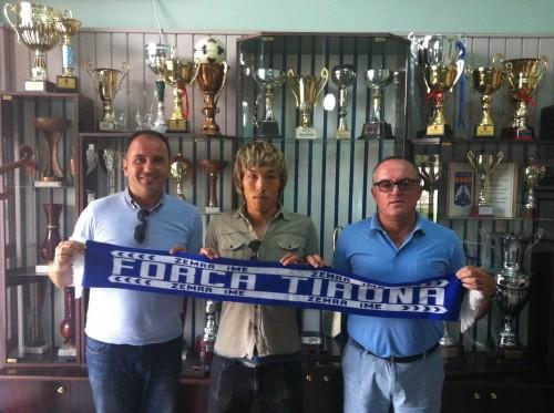 モンテネグロでプレーするFW福井理人がアルバニアの名門クラブへ移籍