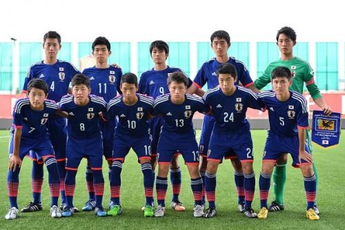 U-15日本代表、地元クラブチームに快勝でタイ遠征2連勝