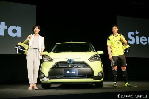 大物続々来日のサッカー界、今度はハメスが登場…日本企業初のCM出演「日本は綺麗」