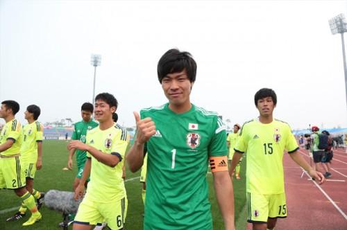 PK止めて決めて銅メダル…ユニバ男子GK福島「本当にうれしい」