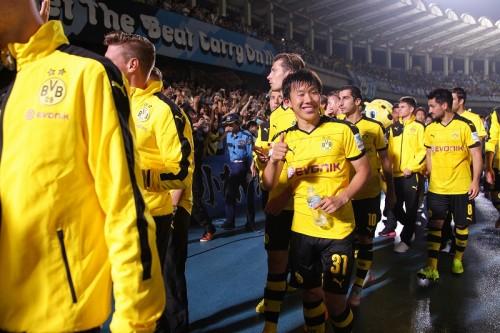 ドルト丸岡が有言実行の凱旋ゴール…試合後にはU-22日本代表入りをアピール