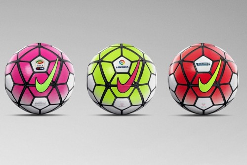 ナイキが新ボール発表…プレミア、リーガ、セリエAで来季使用