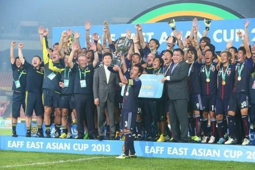 東アジアカップの日本代表戦をフジテレビが全試合生中継