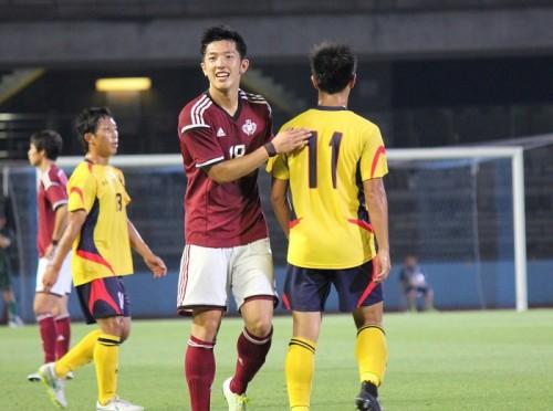 早慶戦MVPの早稲田大DF飯泉「俺に蹴ってくれって伝えたら良いボールが来た」