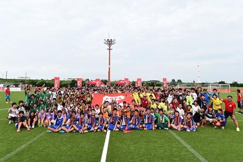 越谷西中学校シャークが浦和地区予選で優勝/COPA COCA-COLA 2015