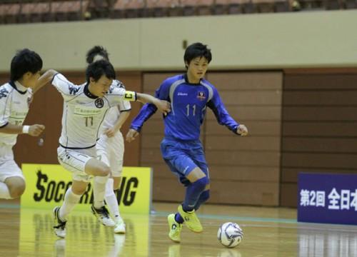 個人技のFC聖和、サンクFCくりやまに勝利/全日本ユースフットサル