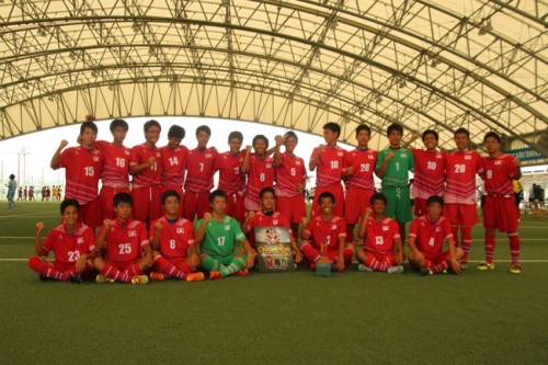 浦和東が無敗優勝を達成、湘南が2位に/UACC 2015