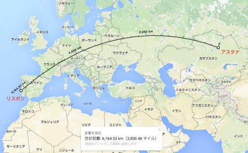 初のCL挑戦は前途多難…アスタナ、グループリーグの総移動距離は地球3/4周