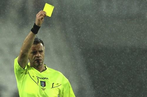 セリエAの累積警告ルールが変更…イエロー5枚で1試合出場停止に