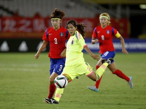 なでしこ、連敗で東アジア杯優勝逃す…先制するも韓国に土壇場でFK弾喫し敗戦