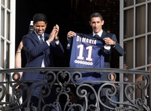 今夏PSG移籍のディ・マリアは…仏紙が累計移籍金トップ10を発表