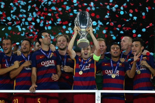 UEFAスーパー杯制覇のバルサ、主要国際タイトル史上最多クラブに