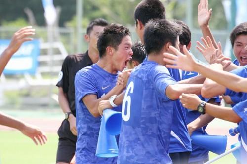 チームを救う一撃を放った市立船橋の矢村健「応援があるから頑張れる」