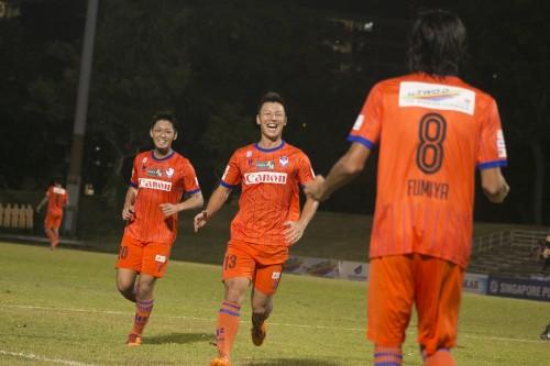 アルビレックス新潟シンガポール、木暮と河田の得点で4試合ぶりの白星