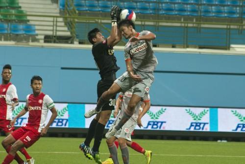 多木理音の1点を守り切ったアルビレックス新潟シンガポールが連勝