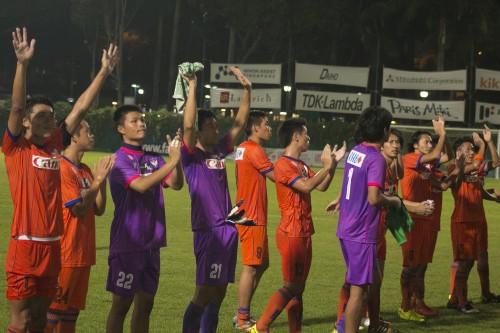 アルビレックス新潟シンガポール、カップ戦準々決勝第1戦で先勝