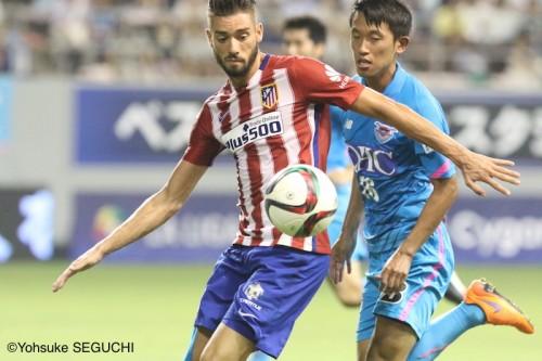 アトレティコMFカラスコが日本サッカーに言及「レベルが上がった」