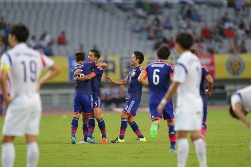 2年ぶりの日韓戦はドロー決着…山口の代表初ゴールで同点も連覇消滅