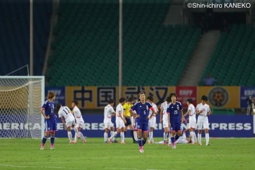 最年少MF増矢の同点弾実らず…なでしこ、北朝鮮に敗れ東アジア杯黒星発進