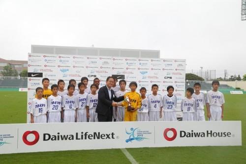 東京U-12、バルサ撃破も準優勝/U-12ワールドチャレンジ最終日