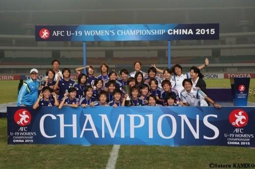 アジアを制したヤングなでしこ「また世界大会の決勝を経験したい」