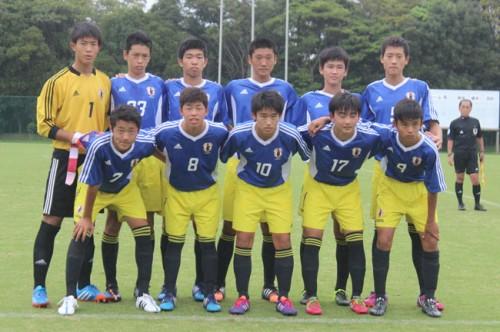 AFCU-16選手権へ確かな成長を見せる/U-15日本代表千葉合宿