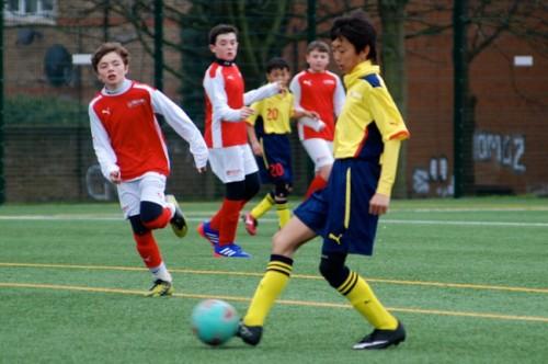 アーセナルサッカースクール市川がジュニアユースセレクション開催