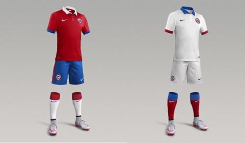 ナイキがチリ代表の新ホーム&アウェイユニフォームを発表