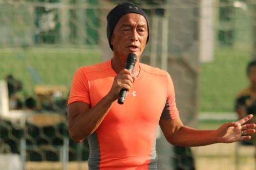 元日本代表の金田喜稔氏が高校生に熱く語る「本気でサッカーをやるなら、命懸かけてみろよ」