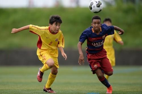 ●「バルセロナはサッカーを知っている」ブレイズ熊本が肌で感じた差
