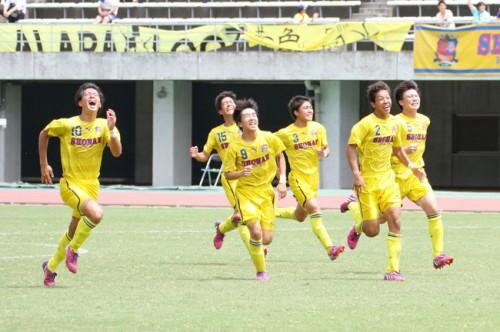 4試合で3度のPK勝ち、4強入り立正大淞南の南健司監督はオシム流