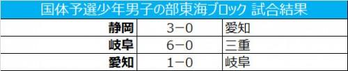 静岡と愛知がわかやま国体出場の切符を獲得/国体予選少年男子の部東海ブロック