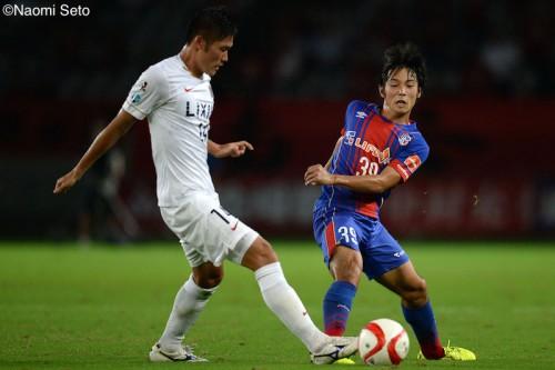 FC東京、終盤に中島が同点弾…好調鹿島との第1戦はドローに持ち込む