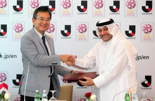 Jリーグ、2022年W杯に向けてカタールリーグとパートナーシップ協定を締結