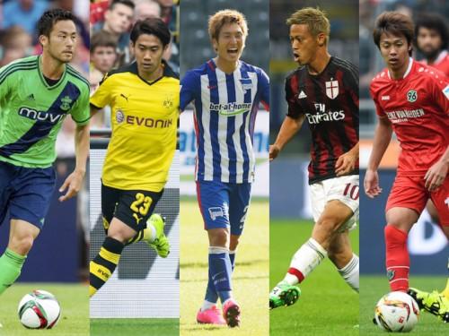 原口が今季初ゴール、清武が復帰し香川との対決実現/欧州4大リーグ日本人選手