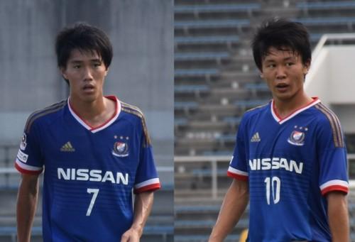 横浜FM、クラブユース個人賞2冠のMF遠藤渓太、FW和田昌士のトップチーム昇格を発表