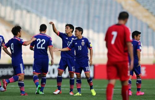 シリアがカンボジアに6発完勝…日本も大勝で2位浮上/W杯アジア2次予選E組