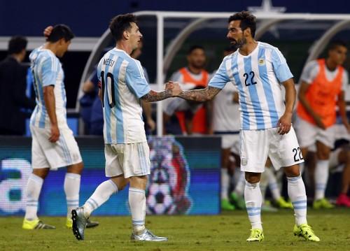 アルゼンチン、メッシ&アグエロ弾で2点差追いつきメキシコとドロー