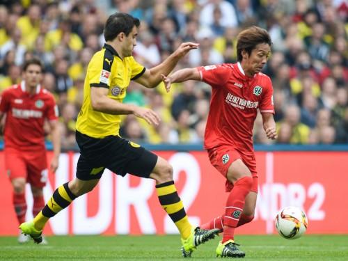 復帰した背番号「10」…清武、3カ月ぶりの試合で「楽しくプレーできた」