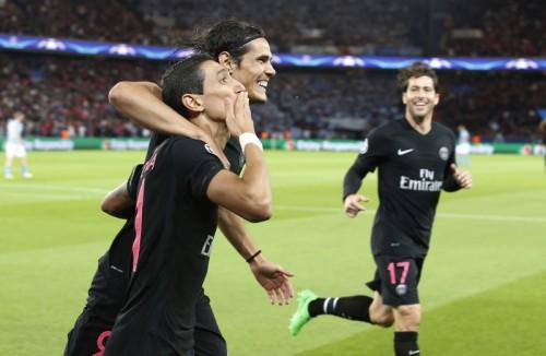 PSG移籍後初ゴールを喜ぶディ・マリア「勝利の道を突き進みたい」