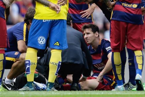 メッシ、約2年ぶりの負傷離脱…バルセロナは全治6〜8週間と発表