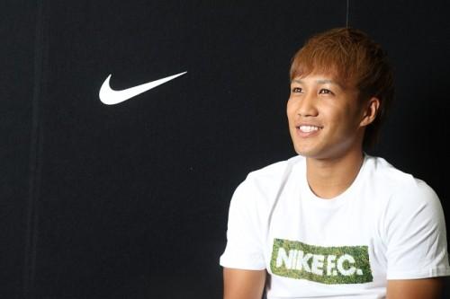 U-22代表FW金森健志が高校生にエール「高校まで無名でも、五輪代表候補にまで上りつめることができる」