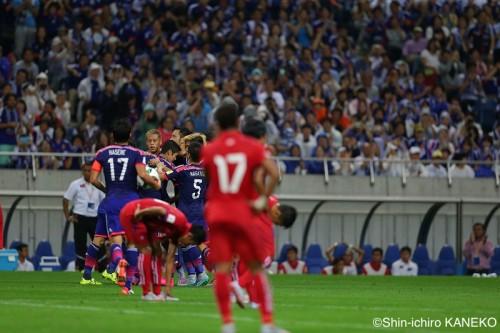 ハリルジャパン、公式戦5戦目で初勝利…本田、香川ら海外組の得点で快勝